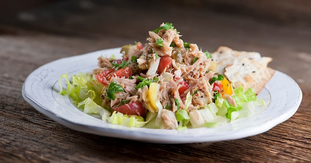 Mustard Tuna Salad Recipe