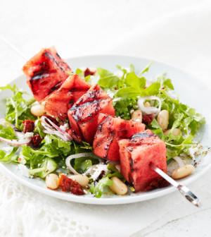 Grilled-Watermelon-Skewers