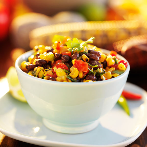 Healthy Dip Recipe: Black Bean and Corn Salsa